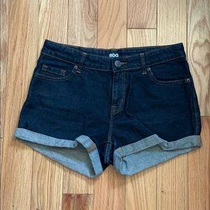 BDG Denim cuffed shorts